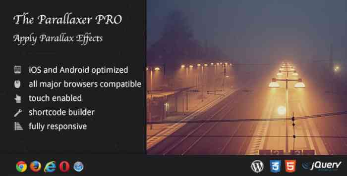 The Parallaxer WP v3.13 - Parallax Effects on Content