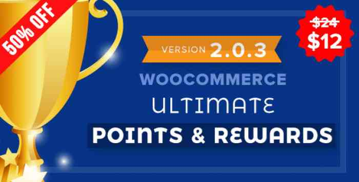 WooCommerce Ultimate Points And Rewards v2.0.3