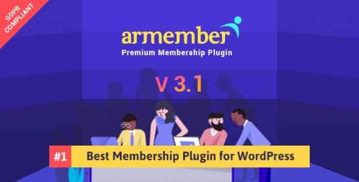 ARMember v3.1 - WordPress Membership Plugin