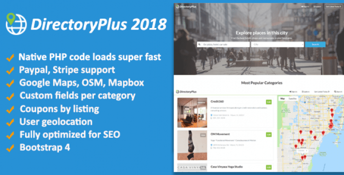 DirectoryPlus v1.08 – Business Directory Script
