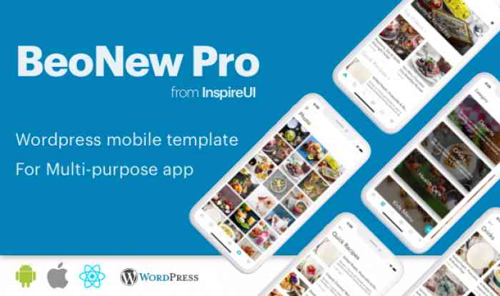 BeoNews Pro v2.9.0 - React Native mobile app for WordPress