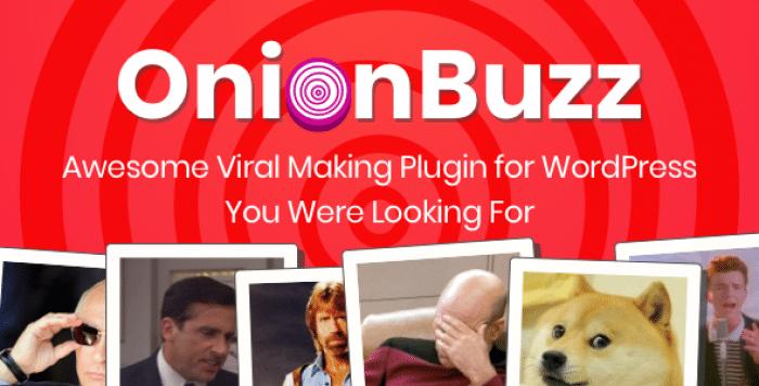 OnionBuzz v1.2.5 - Viral Quiz Maker for WordPress