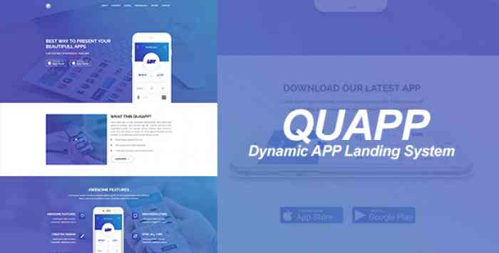 QUAPP - Dynamic App Landing Page Management System
