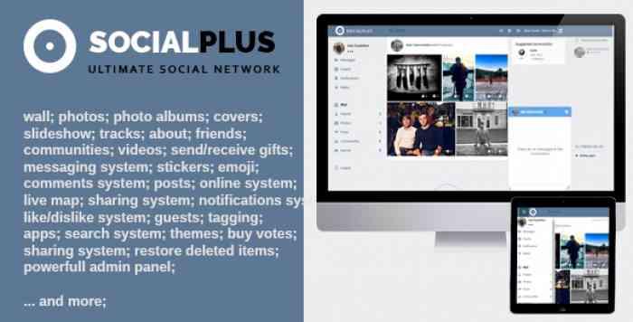 Social Plus v1.1.7 - Ultimate PHP Social Network Platform