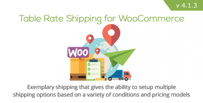 Table Rate Shipping for WooCommerce v4.1.3