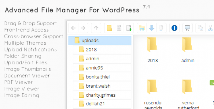 File Manager Plugin For WordPress v7.4.1
