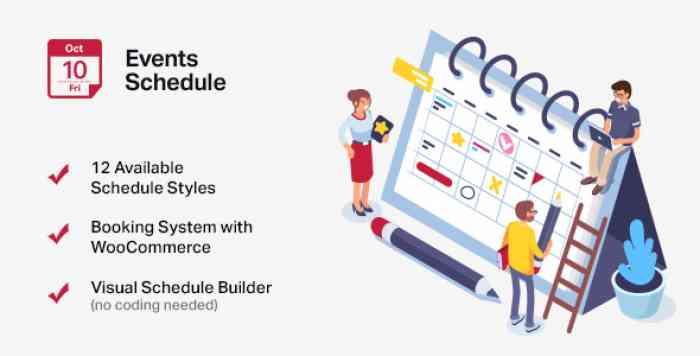 Events Schedule v2.5.8.2 - Events WordPress Plugin