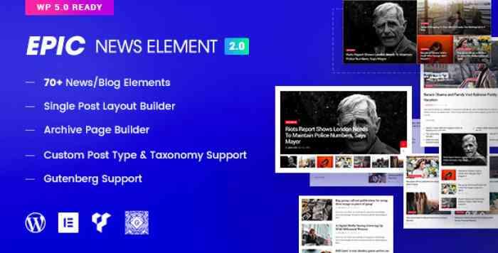 Epic News Elements v2.2.2