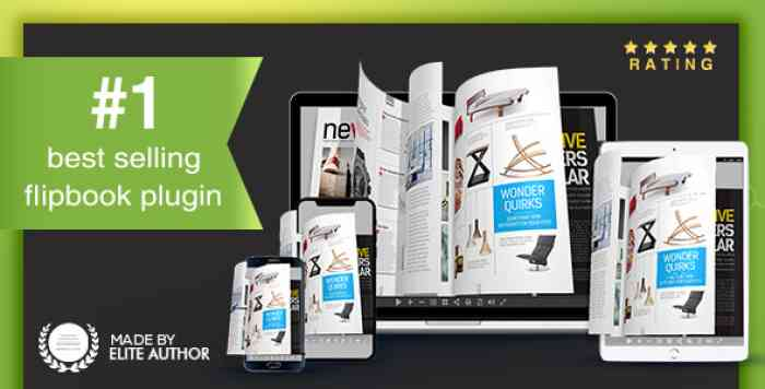 Real3D FlipBook v3.6.1 - WordPress Plugin