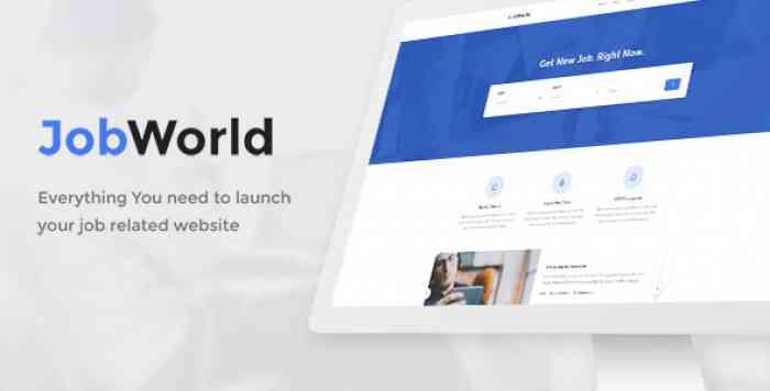 JobWorld v1.6.5 - Job Board Portal - nulled