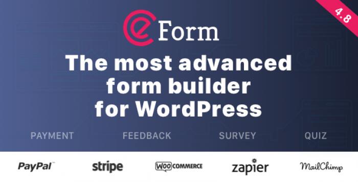 eForm v4.8.1 - WordPress Form Builder