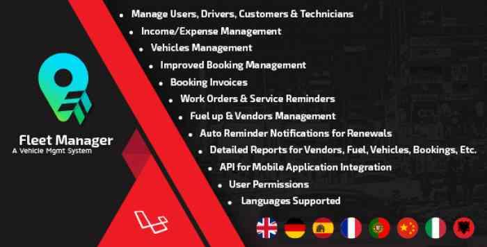 Fleet Manager v3.0 - A Vehicle Mgmt System