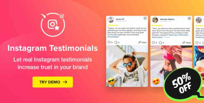 Instagram Testimonials Plugin for WordPress v1.2.0