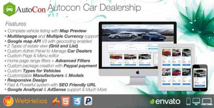 Autocon Car Dealership v1.7.0