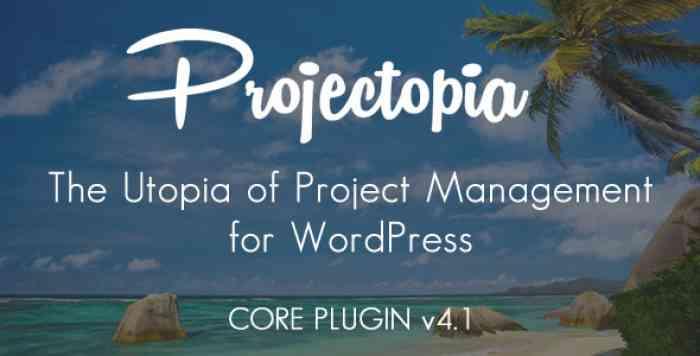Projectopia WP Project Management v4.1