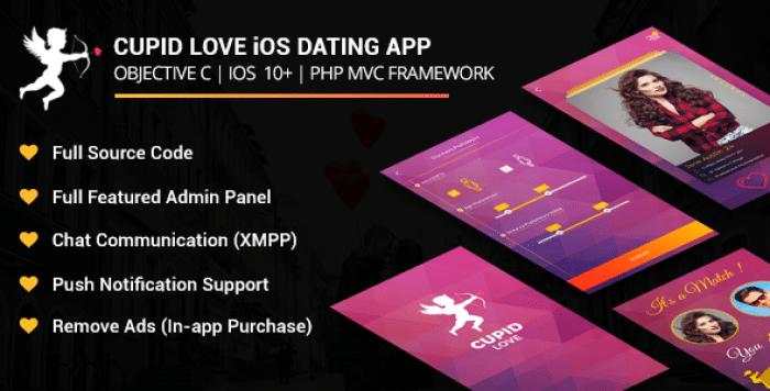 Cupid love iOS Native Application