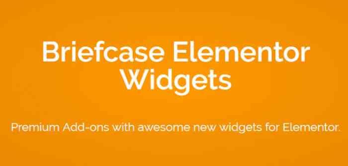 Briefcase Elementor Widgets v1.4.6
