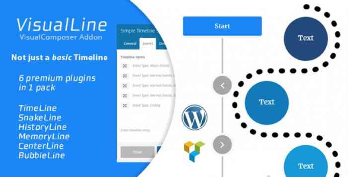 Visual Line v2.0.1 – WordPress Timeline Plugin