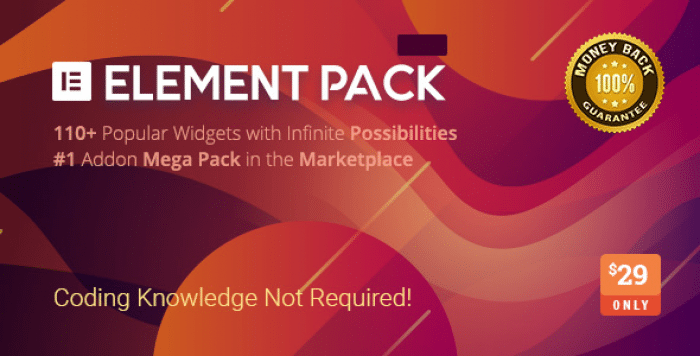 Element Pack v3.0.2 – Addon for Elementor Page Builder