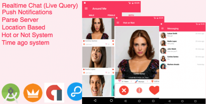 AroundMe - More than a complete Dating App
