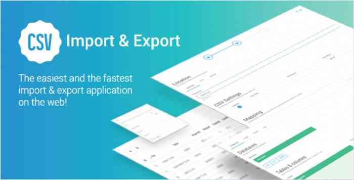 CSV Import & CSV Export v1.1.0