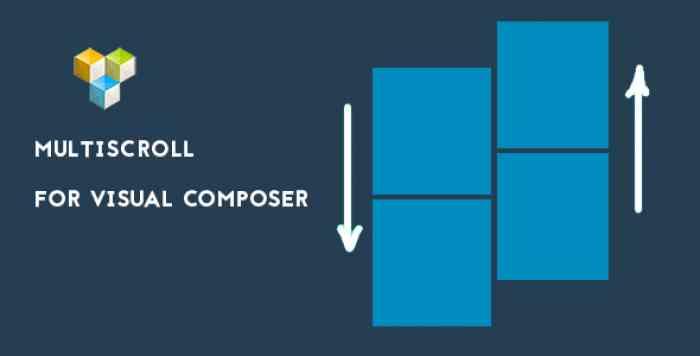 Multi Scroll v1.0.3 - split slider for visual composer