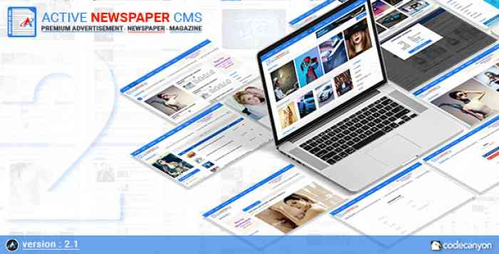 Active Newspaper CMS v2.1 - nulled