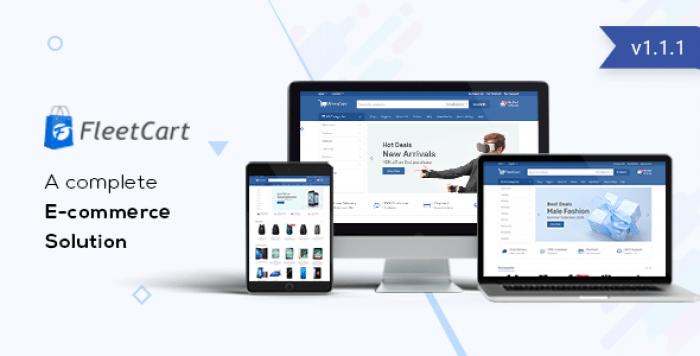 FleetCart v1.1 – Laravel Ecommerce System
