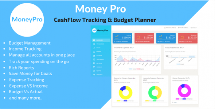 Money Pro v1.2.5 - Cashflow and Budgeting Manager
