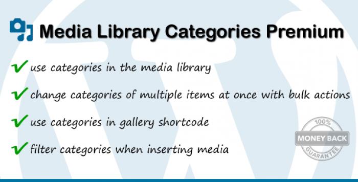 Media Library Categories Premium v2.4.2