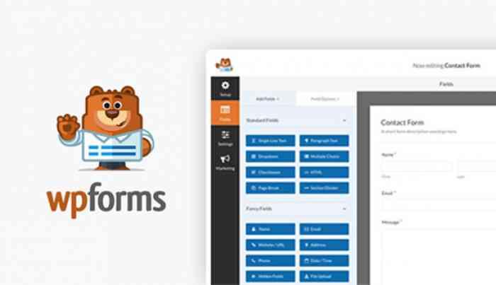WPForms Pro v1.5.1 + Add-Ons Pack