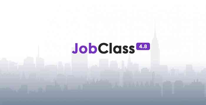 JobClass v4.8 - Job Board Web Application - nulled