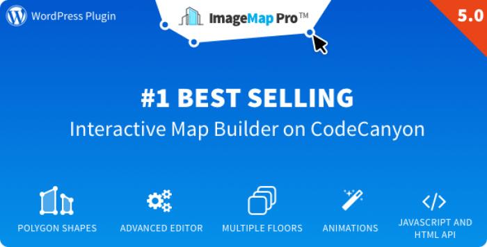 Image Map Pro v5.0 - jQuery SVG Map Builder