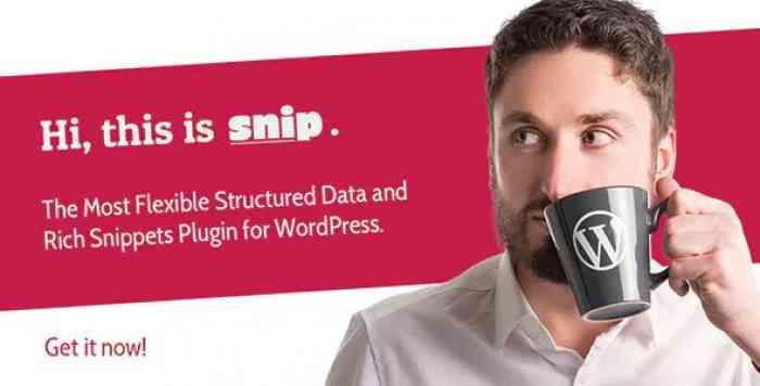 SNIP v2.8.1 - Structured Data Plugin for WordPress