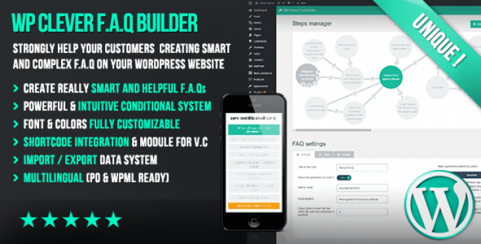 WP Clever FAQ Builder v1.36 - Smart support tool