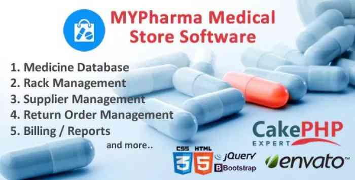 MyMedic v2.0 - Medical Store Software