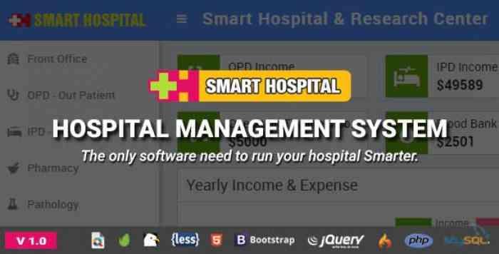 Smart Hospital v1.0 - Hospital Management System - nulled