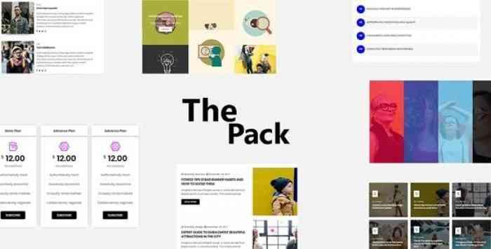 The Pack v1.0 – Elementor Page Builder Addon