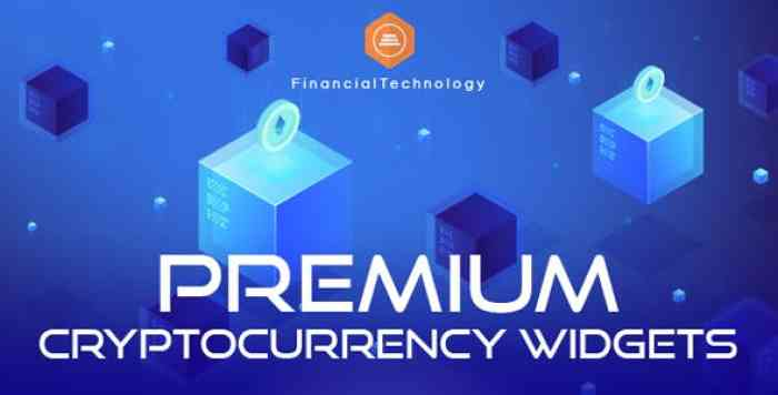 Premium Cryptocurrency Widgets v2.13.3