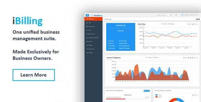 iBilling v4.8.4 - CRM, Accounting and Billing Software