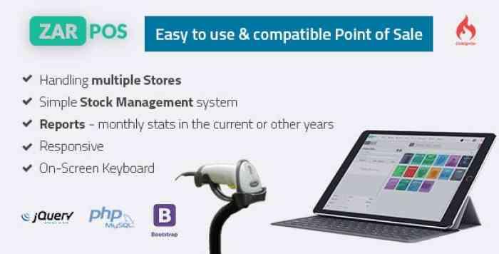 Zar POS v3.0 - point of sale web application