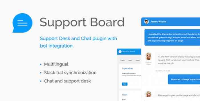 Support Board v1.2.8 - Chat And Help Desk Support & Chat