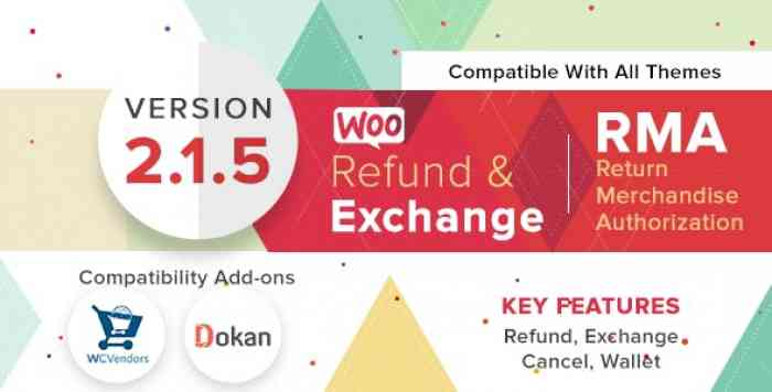 WooCommerce Refund And Exchange With RMA v2.1.5
