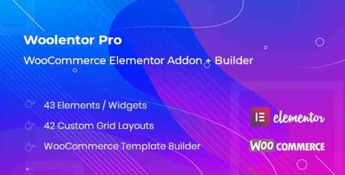 WooLentor Pro v1.0.1 – WooCommerce Elementor Addons + Builder