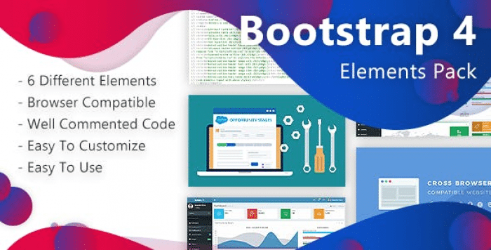 Bootstrap-4 Elements Pack