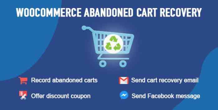 WooCommerce Abandoned Cart Recovery v1.0