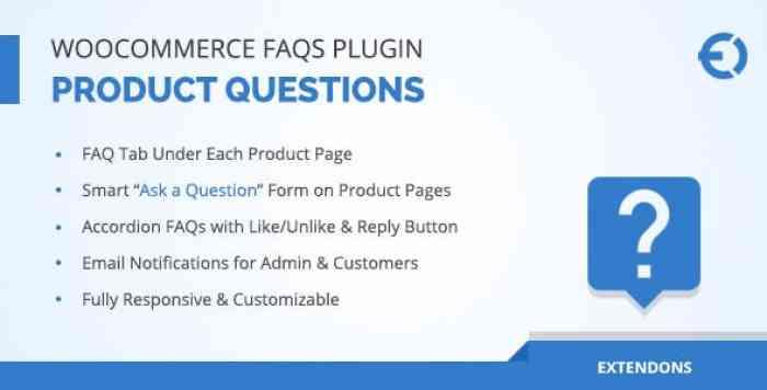 WooCommerce FAQ Plugin v1.0.5 - Product FAQ Tab + Store FAQ Page
