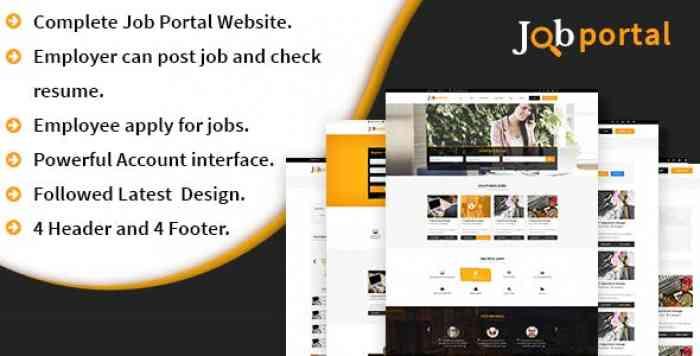 Job Portal Platform - A complete Job portal website