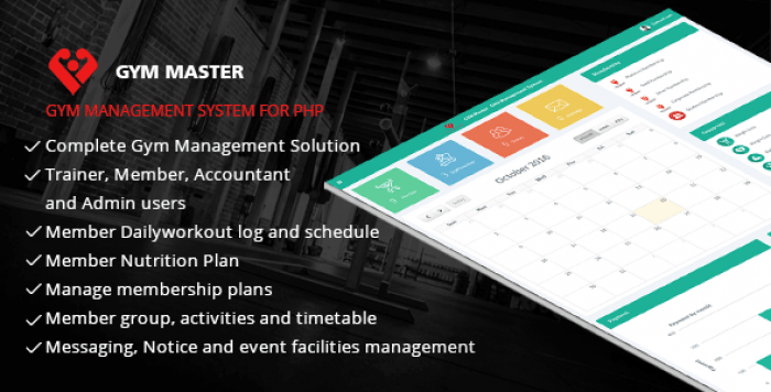 Gym Master v12 - Gym Management System