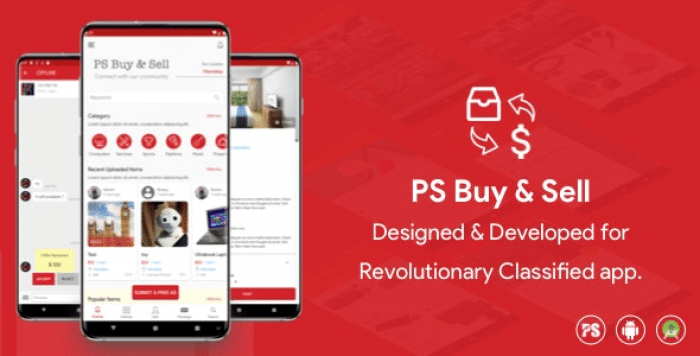 PS Buy & Sell ( Olx, Mercari, Offerup ) Clone Classified App